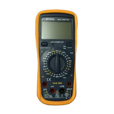 DT-151D LCD Handheld Digital Multimeter Using for Home and Car