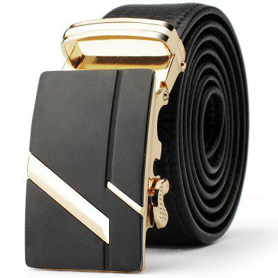 Men's Fashion  Leather Belt Business Trend