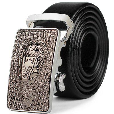 Men's Business Casual Wear Leather Belt