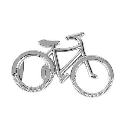 Bicycle Bottle Opener Practical Keychain