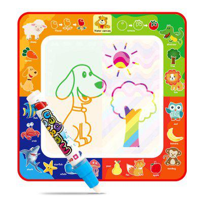 Children Magic Water Animal Canvas Four Kinds of Colors Writing board Graffiti Educational Toys