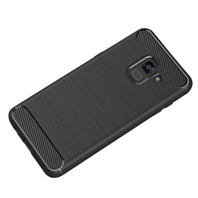 JOFLO Phone Cover Case for Samsung Galaxy A8 Plus 2018 Brushed skid-proof Carbon Fiber TPU CasesSamsung A Series<br>JOFLO Phone Cover Case for Samsung Galaxy A8 Plus 2018 Brushed skid-proof Carbon Fiber TPU Cases<br><br>Color: Black,Red,Gray,Cadetblue<br>Features: Back Cover<br>For: Samsung Mobile Phone<br>Material: TPU, Carbon<br>Package Contents: 1 x Case<br>Package size (L x W x H): 16.50 x 8.00 x 1.00 cm / 6.5 x 3.15 x 0.39 inches<br>Package weight: 0.0260 kg<br>Product weight: 0.0250 kg<br>Style: Novelty, Solid Color