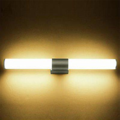 55cm 22W Wall Light Cylinder Stainless Steel Mirror Front Lamp for Bathroom Cabinet