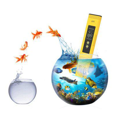 Buy Digital PH Meter Tester Best for Water Aquarium Pool Hot Tub Hydroponics Wine YELLOW for $15.93 in GearBest store