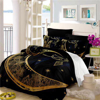 Constellation Totem Series of Three or Four Pieces Bedding Set AS24
