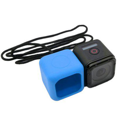 Miękki Silicone Rubber Case Cover Protector skóry i liny dla GoPro Hero 4 Session / GoPro Hero 5 Session