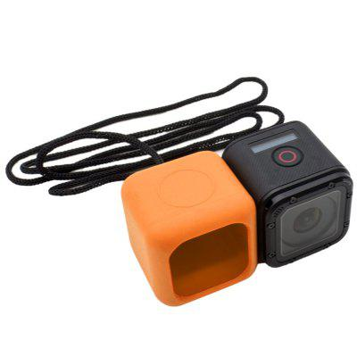 Soft Silicone Rubber Case Cover Skin Protector and Rope for GoPro Hero 4 Session /GoPro Hero 5 Session