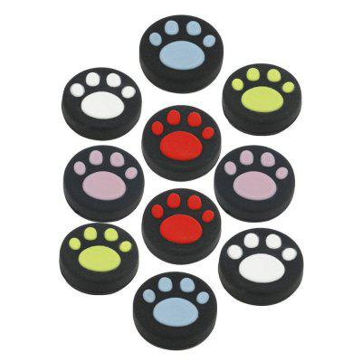 10pcs Silicone Analog Controller Joystick Thumb Stick Grip Cap Cover for PS4/PS3/XboxOne/Xbox360