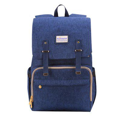 SUNVENO New Fashion Diaper  Backpack Large Capacity   Nappy Bag for Baby Care