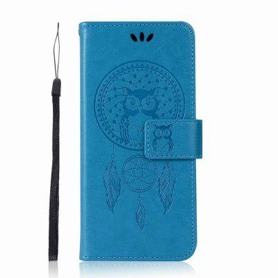 Lucky Wind Chimes The Owl Leather Cover for Samsung Galaxy S9 Case With Stand Mobile Phone Accessory эхолот lucky ffw718li