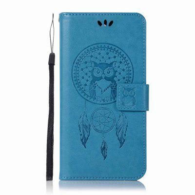Lucky Wind Chimes The Owl Leather Cover for Nokia 8 Case With Stand Mobile Phone Accessory lucky stars 8 the sleepover wish