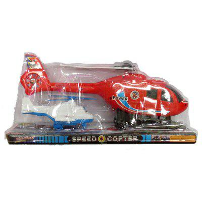 Helicopter + Small Plane Toy with Rotate Wings