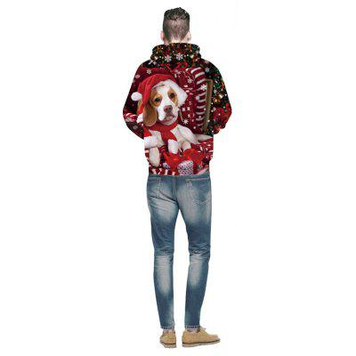 Men Fashion Funny 3D Print Dog HoodieMens Hoodies &amp; Sweatshirts<br>Men Fashion Funny 3D Print Dog Hoodie<br><br>Fabric Type: Terry<br>Material: Polyester<br>Package Contents: 1x Hoodie<br>Shirt Length: Regular<br>Sleeve Length: Full<br>Style: Active<br>Weight: 0.3250kg