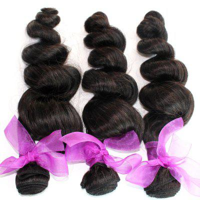 Loose Wave Natural Color 100 Percent Peruvian Human Virgin Hair Weave 3pcsHair Weaves<br>Loose Wave Natural Color 100 Percent Peruvian Human Virgin Hair Weave 3pcs<br><br>Can Be Permed: Yes<br>Chemical Processing: None<br>Color: Natural Black<br>Color Type: Pure Color<br>Hair Grade: 6A+ 100% Unprocessed Virgin Hair<br>Hair Quality: Virgin Hair<br>Hair Weft: Machine Double Weft<br>Material: Human Hair<br>Package Contents(pcs): 3 x Hair Weave<br>Package size (L x W x H): 20.00 x 10.00 x 5.00 cm / 7.87 x 3.94 x 1.97 inches<br>Package weight: 0.3400 kg<br>Source: Peruvian Hair<br>Style: Funmi Curly<br>Type: Human Hair Weaves