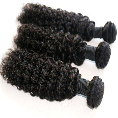 Jerry Curly Natural Color 100 Percent Brazilian Virgin Hair Weave 2pcsHair Weaves<br>Jerry Curly Natural Color 100 Percent Brazilian Virgin Hair Weave 2pcs<br><br>Can Be Permed: Yes<br>Chemical Processing: None<br>Color: Natural Black<br>Color Type: Pure Color<br>Hair Grade: 6A+ 100% Unprocessed Virgin Hair<br>Hair Quality: Virgin Hair<br>Hair Weft: Machine Double Weft<br>Material: Human Hair<br>Package Contents(pcs): 2 x Hair Weave<br>Package size (L x W x H): 20.00 x 10.00 x 5.00 cm / 7.87 x 3.94 x 1.97 inches<br>Package weight: 0.2400 kg<br>Source: Brazilian Hair<br>Style: Kinky Curly<br>Type: Human Hair Weaves