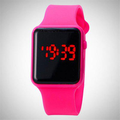 V5 Brand Unisex Rubber LED Date Sports Bracelet Digital Wrist WatchLED Watches<br>V5 Brand Unisex Rubber LED Date Sports Bracelet Digital Wrist Watch<br><br>Band material: Silicone<br>Band size: 26.5 x 2.2cm<br>Case material: ABS<br>Clasp type: Conjoined clasp<br>Dial size: 4 x 5 x 1cm<br>Display type: Digital<br>Hour formats: 24 Hour<br>Movement type: Digital watch<br>Package Contents: 1 x Watch<br>Package size (L x W x H): 27.00 x 5.00 x 1.50 cm / 10.63 x 1.97 x 0.59 inches<br>Package weight: 0.0280 kg<br>People: Male table,Female table,Children table<br>Product size (L x W x H): 26.40 x 4.00 x 1.00 cm / 10.39 x 1.57 x 0.39 inches<br>Product weight: 0.0250 kg<br>Shape of the dial: Rectangle<br>Special features: Date<br>Watch mirror: Acrylic<br>Watch style: Business, Fashion, Casual, LED, Lovely, Childlike<br>Water resistance: Life water resistant