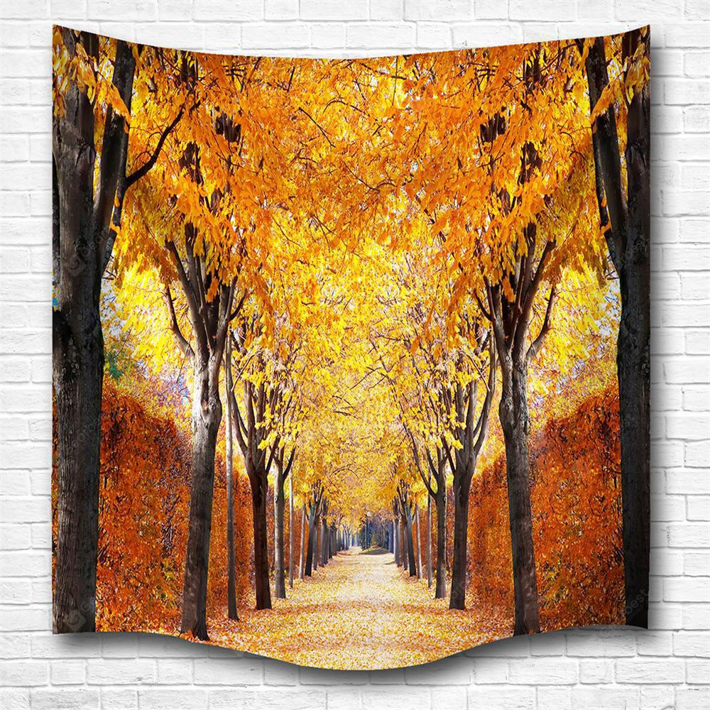 The Autumn Leaves 3D Digital Printing Home Wall Hanging Nature Art ...