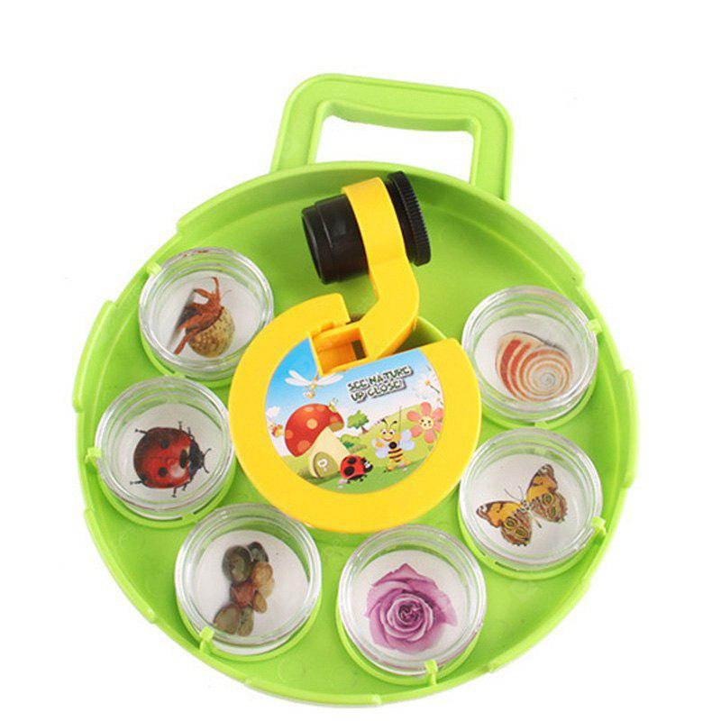 Vision Microscope Insect Plant Viewer Child Educational Toys Set