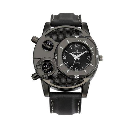 Casual Trendy Silicone Men  Watch