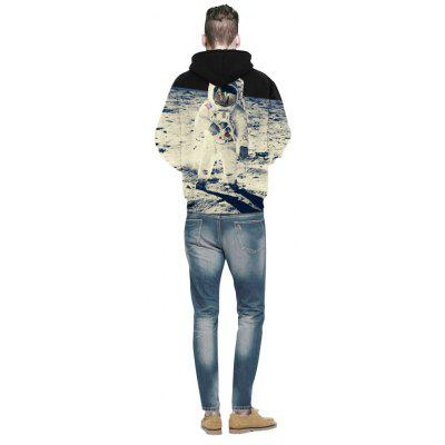 3D Human Lunar Print Hedging HoodieMens Hoodies &amp; Sweatshirts<br>3D Human Lunar Print Hedging Hoodie<br><br>Fabric Type: Broadcloth<br>Material: Cotton<br>Package Contents: 1 x Hoodie<br>Shirt Length: Regular<br>Sleeve Length: Full<br>Style: Fashion<br>Weight: 0.3900kg