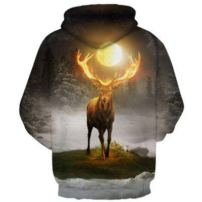 Star Antelope Digital HoodieMens Hoodies &amp; Sweatshirts<br>Star Antelope Digital Hoodie<br><br>Material: Cotton<br>Package Contents: 1 x Hoodie<br>Shirt Length: Regular<br>Sleeve Length: Full<br>Style: Fashion<br>Weight: 0.4800kg