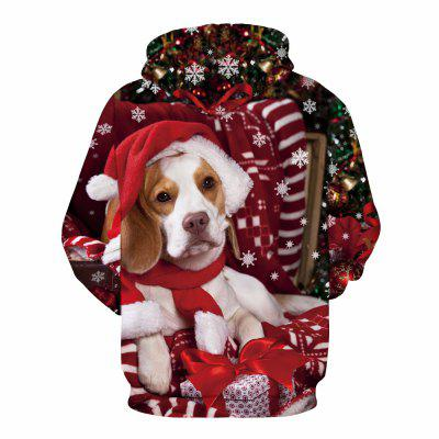 Christmas 3D Puppy Digital Printing HoodieMens Hoodies &amp; Sweatshirts<br>Christmas 3D Puppy Digital Printing Hoodie<br><br>Material: Cotton<br>Package Contents: 1 x Hoodie<br>Shirt Length: Regular<br>Sleeve Length: Full<br>Style: Fashion<br>Weight: 0.4800kg