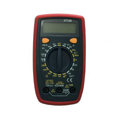 DT33B LCD Handheld Digital Multimeter Using for Home and Car