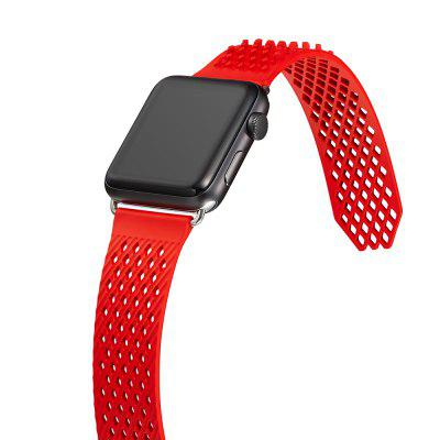 Soft Silicon Sport Replacement Bracelet for Apple Watch Band Strap 42mm