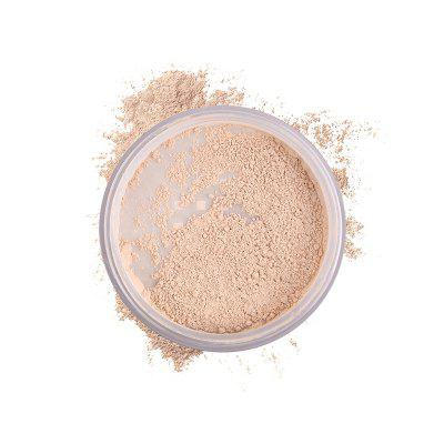 HERES B2UTY Loose Powder Makeup Translucent Oil-Control Natural Ingredient Setting Brighten 4 Color