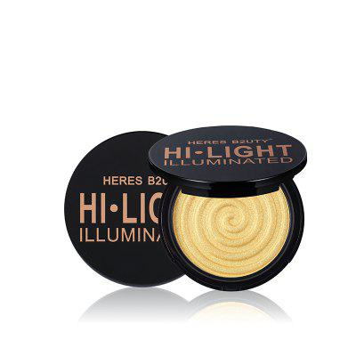 HERES B2UTY Face Highlight Matte Bronze Rifilatura Powder Illuminato Soft Mineral Long Lasting 4 colori