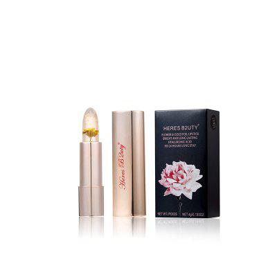HERES B2UTY Flower Gold Foil Lipstick Hyaluronic Long Stay Temperature Change Moisturizer Lips 3 colors