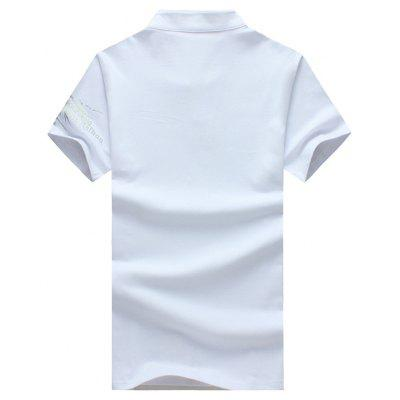 Mens Summer Stand-Collar Printing Short-Sleeved Slim T-ShirtMens T-shirts<br>Mens Summer Stand-Collar Printing Short-Sleeved Slim T-Shirt<br><br>Collar: Stand-Up Collar<br>Material: Cotton Blends<br>Package Contents: 1xT-Shirt<br>Pattern Type: Print<br>Sleeve Length: Short<br>Style: Fashion<br>Weight: 0.2500kg