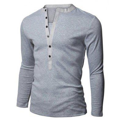 Autumn and Winter Mens Long-Sleeved T-ShirtMens Long Sleeves Tees<br>Autumn and Winter Mens Long-Sleeved T-Shirt<br><br>Collar: V-Neck<br>Material: Cotton<br>Package Contents: 1 x T-shirt<br>Pattern Type: Solid<br>Sleeve Length: Full<br>Style: Casual<br>Weight: 0.2500kg