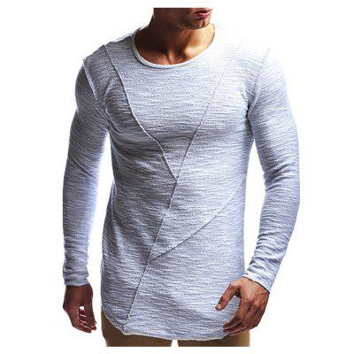 Men's Long Sleeve Tight T-Shirt