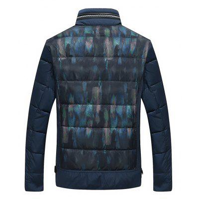 Casual Mens Down Jacket Warm CoatMens Jackets &amp; Coats<br>Casual Mens Down Jacket Warm Coat<br><br>Closure Type: Zipper<br>Clothes Type: Down &amp; Parkas<br>Collar: Stand Collar<br>Decoration: Pattern<br>Detachable Part: None<br>Hooded: No<br>Materials: Down<br>Package Content: 1x Coat<br>Package size (L x W x H): 1.00 x 1.00 x 1.00 cm / 0.39 x 0.39 x 0.39 inches<br>Package weight: 1.0000 kg<br>Pattern Type: Print<br>Shirt Length: Short<br>Size1: M,L,XL,2XL<br>Style: Casual