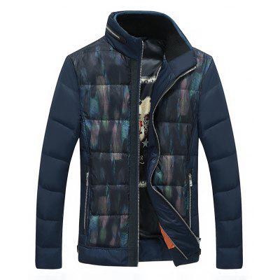 Casual Men's Down Jacket Warm Coat