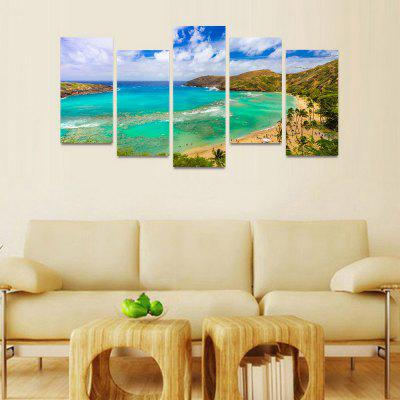 MailingArt FIV029 Seascape Wall Art Painting Home Decor Canvas Print LandscapePrints<br>MailingArt FIV029 Seascape Wall Art Painting Home Decor Canvas Print Landscape<br><br>Craft: Print<br>Form: Five Panels<br>Material: Canvas<br>Package Contents: 5 x Print<br>Package size (L x W x H): 82.00 x 32.00 x 12.00 cm / 32.28 x 12.6 x 4.72 inches<br>Package weight: 1.8000 kg<br>Painting: Include Inner Frame<br>Shape: Horizontal Panoramic<br>Style: Natural<br>Subjects: Seascape<br>Suitable Space: Boys Room,Cafes,Corridor,Dining Room,Girls Room,Hotel,Kids Room,Kitchen,Living Room,Office,Study Room / Office