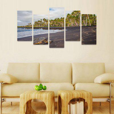 Mailingart FIV35 5 Panels Seascape Wall Art Painting Home Decor  Canvas PrintPainting<br>Mailingart FIV35 5 Panels Seascape Wall Art Painting Home Decor  Canvas Print<br><br>Craft: Print<br>Form: Five Panels<br>Material: Canvas<br>Package Contents: 5 x Print<br>Package size (L x W x H): 82.00 x 32.00 x 12.00 cm / 32.28 x 12.6 x 4.72 inches<br>Package weight: 1.8000 kg<br>Painting: Include Inner Frame<br>Shape: Horizontal Panoramic<br>Style: Natural<br>Subjects: Seascape<br>Suitable Space: Living Room,Dining Room,Office,Hotel,Cafes,Kids Room,Kitchen,Corridor,Study Room / Office,Boys Room,Girls Room<br>??: 30x60cm 4pcs + 30x80cm 1pc<br>??: 1.8Kg