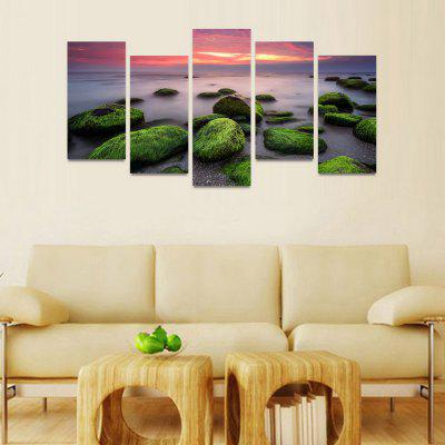 MailingArt FIV00481 5 Panels Seascape Wall Art Painting Home Decor Canvas PrintPrints<br>MailingArt FIV00481 5 Panels Seascape Wall Art Painting Home Decor Canvas Print<br><br>Craft: Print<br>Form: Five Panels<br>Material: Canvas<br>Package Contents: 5 x Print<br>Package size (L x W x H): 82.00 x 32.00 x 12.00 cm / 32.28 x 12.6 x 4.72 inches<br>Package weight: 1.8000 kg<br>Painting: Include Inner Frame<br>Shape: Horizontal Panoramic<br>Style: Natural<br>Subjects: Seascape<br>Suitable Space: Bedroom,Cafes,Dining Room,Hotel,Kids Room,Kitchen,Living Room,Office,Study Room / Office