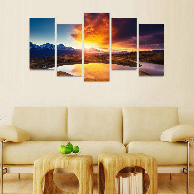 MailingArt FIV022 5 Panels Seascape Wall Art Painting Home Decor Canvas PrintPrints<br>MailingArt FIV022 5 Panels Seascape Wall Art Painting Home Decor Canvas Print<br><br>Craft: Print<br>Form: Five Panels<br>Material: Canvas<br>Package Contents: 5 x Print<br>Package size (L x W x H): 82.00 x 32.00 x 12.00 cm / 32.28 x 12.6 x 4.72 inches<br>Package weight: 1.8000 kg<br>Painting: Include Inner Frame<br>Shape: Horizontal Panoramic<br>Style: Natural<br>Subjects: Seascape<br>Suitable Space: Boys Room,Cafes,Corridor,Dining Room,Girls Room,Hotel,Kids Room,Kitchen,Living Room,Office,Study Room / Office
