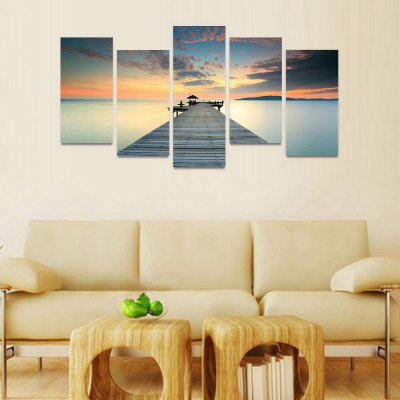 MailingArt FIV024 5 Panels Seascape Wall Art Painting Home Decor Canvas PrintPrints<br>MailingArt FIV024 5 Panels Seascape Wall Art Painting Home Decor Canvas Print<br><br>Craft: Print<br>Form: Five Panels<br>Material: Canvas<br>Package Contents: 5 x Print<br>Package size (L x W x H): 82.00 x 32.00 x 12.00 cm / 32.28 x 12.6 x 4.72 inches<br>Package weight: 1.8000 kg<br>Painting: Include Inner Frame<br>Shape: Horizontal Panoramic<br>Style: Natural<br>Subjects: Seascape<br>Suitable Space: Boys Room,Cafes,Corridor,Dining Room,Girls Room,Hotel,Kids Room,Kitchen,Living Room,Office,Study Room / Office