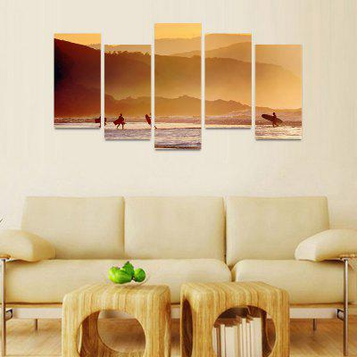 MailingArt FIV033 5 Panels Seascape Wall Art Painting Home Decor Canvas PrintPrints<br>MailingArt FIV033 5 Panels Seascape Wall Art Painting Home Decor Canvas Print<br><br>Craft: Print<br>Form: Five Panels<br>Material: Canvas<br>Package Contents: 5 x Print<br>Package size (L x W x H): 82.00 x 32.00 x 12.00 cm / 32.28 x 12.6 x 4.72 inches<br>Package weight: 1.8000 kg<br>Painting: Include Inner Frame<br>Shape: Horizontal Panoramic<br>Style: Natural<br>Subjects: Seascape<br>Suitable Space: Boys Room,Cafes,Corridor,Dining Room,Girls Room,Hotel,Kids Room,Kitchen,Living Room,Office,Study Room / Office