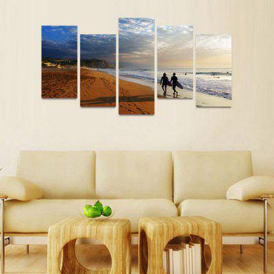 MailingArt FIV037 5 Panels Seascape Wall Art Painting Home Decor Canvas PrintPrints<br>MailingArt FIV037 5 Panels Seascape Wall Art Painting Home Decor Canvas Print<br><br>Craft: Print<br>Form: Five Panels<br>Material: Canvas<br>Package Contents: 5 x Print<br>Package size (L x W x H): 82.00 x 32.00 x 12.00 cm / 32.28 x 12.6 x 4.72 inches<br>Package weight: 1.8000 kg<br>Painting: Include Inner Frame<br>Shape: Horizontal Panoramic<br>Style: Natural<br>Subjects: Seascape<br>Suitable Space: Boys Room,Cafes,Corridor,Dining Room,Girls Room,Hotel,Kids Room,Kitchen,Living Room,Office,Study Room / Office