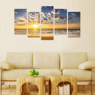 MailingArt FIV038 5 Panels Seascape Wall Art Painting Home Decor Canvas PrintPrints<br>MailingArt FIV038 5 Panels Seascape Wall Art Painting Home Decor Canvas Print<br><br>Craft: Print<br>Form: Five Panels<br>Material: Canvas<br>Package Contents: 5 x Print<br>Package size (L x W x H): 82.00 x 32.00 x 12.00 cm / 32.28 x 12.6 x 4.72 inches<br>Package weight: 1.8000 kg<br>Painting: Include Inner Frame<br>Shape: Horizontal Panoramic<br>Style: Natural<br>Subjects: Seascape<br>Suitable Space: Boys Room,Cafes,Corridor,Dining Room,Girls Room,Hotel,Kids Room,Kitchen,Living Room,Office,Study Room / Office