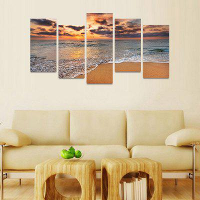 MailingArt FIV40 5 Panels Seascape Wall Art Painting Home Decor Canvas PrintPrints<br>MailingArt FIV40 5 Panels Seascape Wall Art Painting Home Decor Canvas Print<br><br>Craft: Print<br>Form: Five Panels<br>Material: Canvas<br>Package Contents: 5 x Print<br>Package size (L x W x H): 82.00 x 32.00 x 12.00 cm / 32.28 x 12.6 x 4.72 inches<br>Package weight: 1.8000 kg<br>Painting: Include Inner Frame<br>Shape: Horizontal Panoramic<br>Style: Natural<br>Subjects: Seascape<br>Suitable Space: Boys Room,Cafes,Corridor,Dining Room,Girls Room,Hotel,Kids Room,Kitchen,Living Room,Office,Study Room / Office