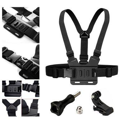 Action Camera Accessories Chest Mount Harness Suits Kit For GoPro Hero 6/5S/5/4/3+/3/2/1Action Cameras &amp; Sport DV Accessories<br>Action Camera Accessories Chest Mount Harness Suits Kit For GoPro Hero 6/5S/5/4/3+/3/2/1<br><br>Accessory type: Chest Straps, Screw<br>Apply to Brand: Xiaomi,Sony,Gopro,SJCAM,Eken<br>Compatible with: SJCAM M10 Plus, EKEN H9, SJ4000 Plus, SJ4000 WiFi, EKEN H8R, EKEN H8, EKEN H3R, EKEN H9R, Xiaomi Yi II, SJ5000 WiFi, SJ5000X, All models, SJCAM M10, SJCAM 4000 plus, Gopro Hero 4, Gopro Hero 3 Plus, Gopro Hero 3, Gopro Hero 2, Gopro Hero 1, GoPro Hero Series, SJ4000, SJ5000, SJCAM 5000 plus, SJ7000, GoPro Hero 4 Session, Xiaomi Yi, Action Camera, SJ6000<br>Extened Length(cm): 10<br>Folded Length(cm): 10<br>Length Range(cm): 10<br>Material: ABS, Alluminum Alloy, Nylon<br>Package Contents: 1 x Chest Strap?1 x J-hook?1 x Screw?1 x Wrench<br>Package size (L x W x H): 11.00 x 11.00 x 11.00 cm / 4.33 x 4.33 x 4.33 inches<br>Package weight: 0.2500 kg<br>Product size (L x W x H): 10.00 x 10.00 x 10.00 cm / 3.94 x 3.94 x 3.94 inches<br>Product weight: 0.2000 kg<br>Waterproof: Yes