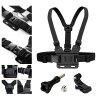Action Camera Accessories Chest Mount Harness Suits Kit For GoPro Hero 6/5S/5/4/3+/3/2/1 - BLACK