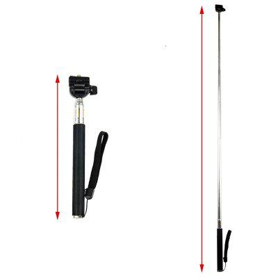 Action Camera Accessories Floating Mount Monopod Kit for GoPro/SJ4000Action Cameras &amp; Sport DV Accessories<br>Action Camera Accessories Floating Mount Monopod Kit for GoPro/SJ4000<br><br>Accessory type: Floaty Bobber, Mount Adapter, Selfie Camera Monopod Stick<br>Apply to Brand: Xiaomi,Sony,Gopro,SJCAM,Eken<br>Compatible with: EKEN H8, EKEN H8R, SJ4000 WiFi, EKEN H9, SJCAM M10 Plus, EKEN H3R, EKEN H9R, Xiaomi Yi II, SJ5000 WiFi, SJ5000X, YI II, All models, SJCAM M10, SJCAM 4000 plus, YI, Gopro Hero 4, Gopro Hero 3 Plus, Gopro Hero 3, Gopro Hero 2, Gopro Hero 1, GoPro Hero Series, SJ4000, SJ5000, SJCAM 5000 plus, SJ7000, GoPro Hero 4 Session, Xiaomi Yi, Action Camera, SJ6000<br>Extened Length(cm): 22<br>Folded Length(cm): 7<br>Length Range(cm): 7-22<br>Material: Alluminum Alloy, ABS<br>Package Contents: 1 x Monopod And Adapter?1 x Car Suction Mount And Adapter?1 x Floating Mount<br>Package size (L x W x H): 24.00 x 8.00 x 8.00 cm / 9.45 x 3.15 x 3.15 inches<br>Package weight: 0.2800 kg<br>Product size (L x W x H): 22.00 x 7.00 x 7.00 cm / 8.66 x 2.76 x 2.76 inches<br>Product weight: 0.2200 kg<br>Waterproof: Yes