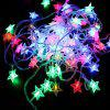 1PC 10M 60LEDS Led String Lámpák 8MODES Five Pointed Star Light Karácsonyi Újévi Wedding Party Hálószoba 220V - SZíNES