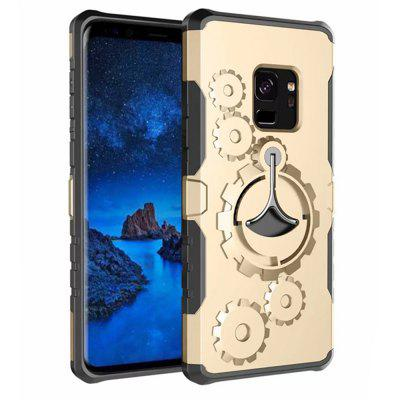 Cover Case for Samsung Galaxy S9 Plus Mechanical Gears Ring Scratch Slim Thin Protection ArmbandCover Case for Samsung Galaxy S9 Plus Mechanical Gears Ring Scratch Slim Thin Protection Armband<br><br>Color: Rose Gold,Silver,Black,Gold,Gray,Cadetblue<br>Features: Back Cover, Cases with Stand, Anti-knock, Dirt-resistant, Armband<br>Material: PC, TPU<br>Package Contents: 1 x Phone Case *1 x armband<br>Package size (L x W x H): 20.00 x 9.00 x 2.00 cm / 7.87 x 3.54 x 0.79 inches<br>Package weight: 0.0650 kg<br>Product weight: 0.0450 kg<br>Style: Solid Color